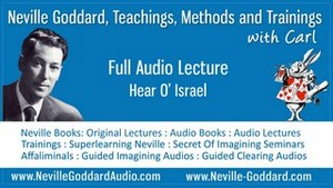 Neville-Goddard-Audio-Lecture-Hear-O-Israel
