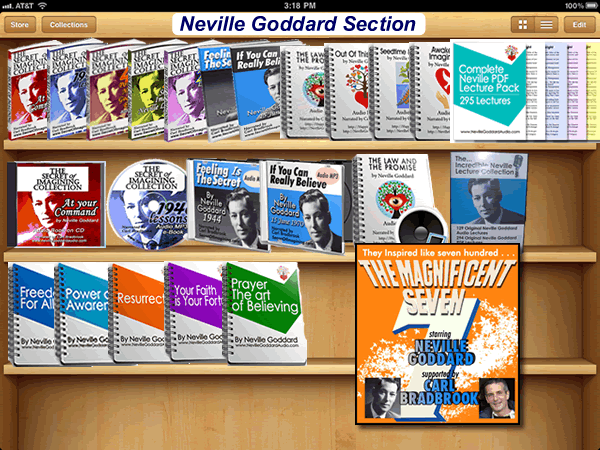 Neville books lectures and audios