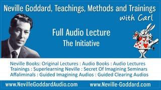 Neville-Goddard-Audio-Lecture-The-Initiative